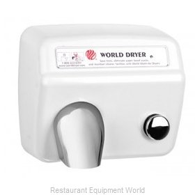 World Dryer DA3 Surface Mount Hand Dryer