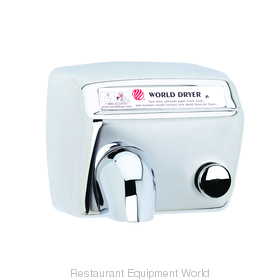 World Dryer DA5-972 Model A Hand Dryer