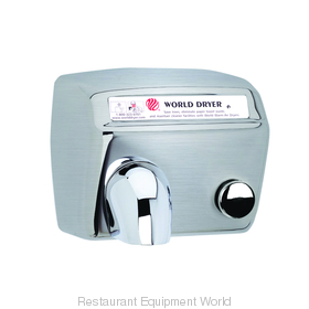 World Dryer DA5-973 Model A Hand Dryer