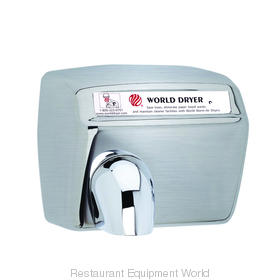 World Dryer DXA52-973 Model A Hand Dryer