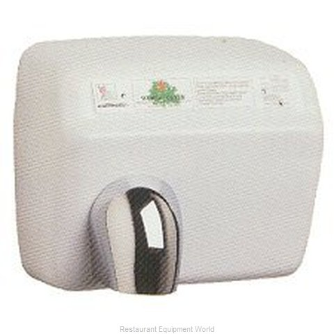 World Dryer DXA53 Surface Mount Hand Dryer (Magnified)