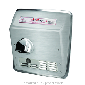 World Dryer DXRM54-Q973 AirMax Hand Dryer