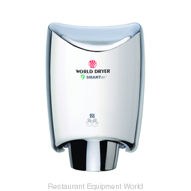 World Dryer K-972A SMARTdri Surface Mount Hand Dryer