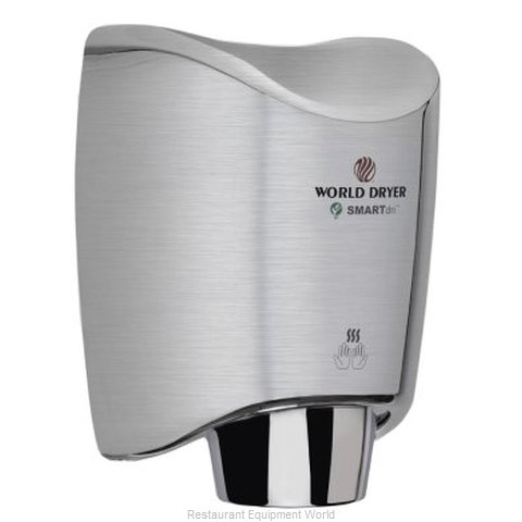 World Dryer K4-971A Surface Mount Hand Dryer (Magnified)
