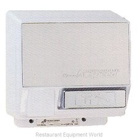 World Dryer WA126-2 Surface Mount, Push Button Hand Dryer