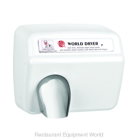 World Dryer XA5-974 Model A Hand Dryer