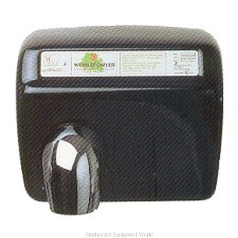 World Dryer XA5 Surface Mount Hand Dryer (Magnified)