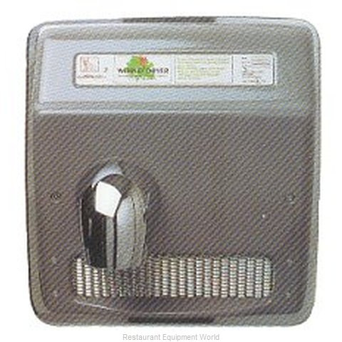 World Dryer XRA53 Recessed Mount Hand Dryer