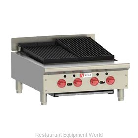 Wolf Range ACB25 Charbroiler, Gas, Countertop