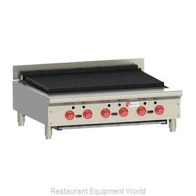 Wolf Range ACB36 Charbroiler, Gas, Countertop