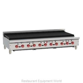 Wolf Range ACB60 Charbroiler, Gas, Countertop