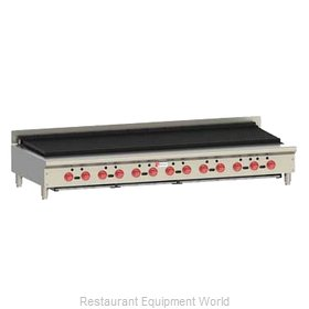 Wolf Range ACB72 Charbroiler, Gas, Countertop