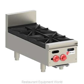 Wolf Range AHP212 Hotplate, Countertop, Gas