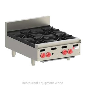 Wolf Range AHP424 Hotplate, Countertop, Gas