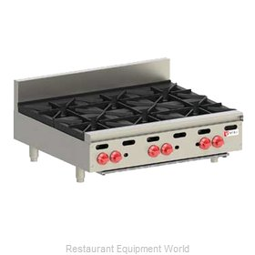 Wolf Range AHP636 Hotplate, Countertop, Gas