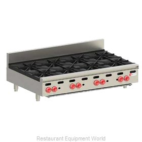 Wolf Range AHP848 Hotplate, Countertop, Gas