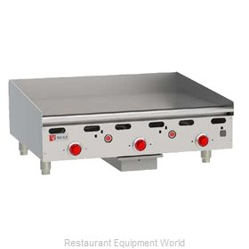 Wolf Range ASA36 Griddle, Gas, Countertop