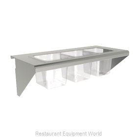 Wolf Range CONRAIL-ACB60 Condiment Shelf for Cooking Equipment