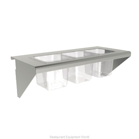 Wolf Range CONRAIL-ACB72 Condiment Shelf for Cooking Equipment