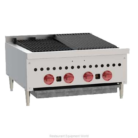 Wolf Range SCB25 Radiant Charbroiler (Magnified)