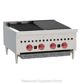 Wolf Range SCB25 Charbroiler, Gas, Countertop