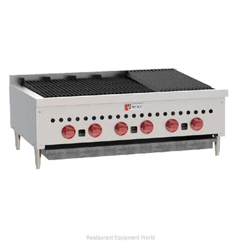 Wolf Range SCB36 Radiant Charbroiler (Magnified)