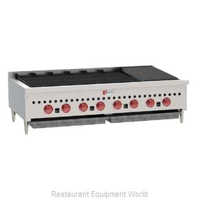 Wolf Range SCB47 Charbroiler, Gas, Countertop