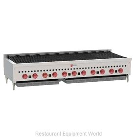 Wolf Range SCB60 Charbroiler, Gas, Countertop