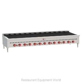 Wolf Range SCB72 Charbroiler, Gas, Countertop