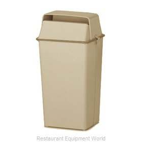 Witt Industries 008HAL Trash Garbage Waste Container Stationary