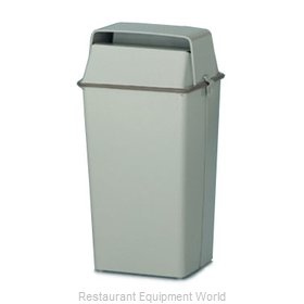 Witt Industries 008HSL Trash Garbage Waste Container Stationary