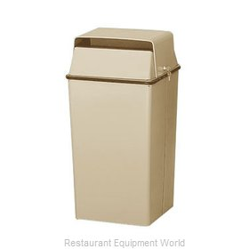 Witt Industries 008LAL Trash Garbage Waste Container Stationary