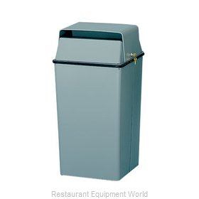 Witt Industries 008LSL Trash Garbage Waste Container Stationary