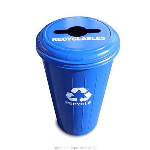 Witt Industries 10/1CTDB Waste Receptacle Recycle