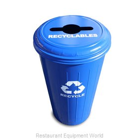 Witt Industries 10/1CTDB Waste Receptacle Recycle