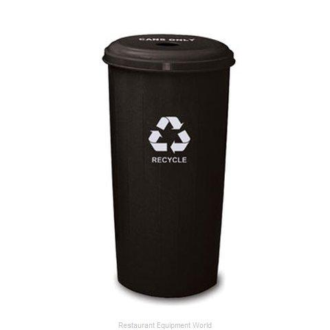 Witt Industries 10/1DTBK Waste Receptacle Recycle