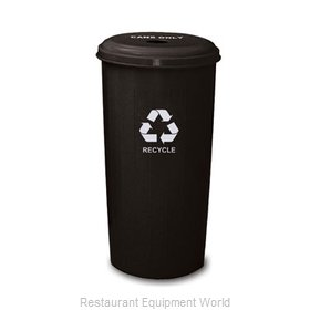 Witt Industries 10/1DTBK Waste Receptacle Recycle