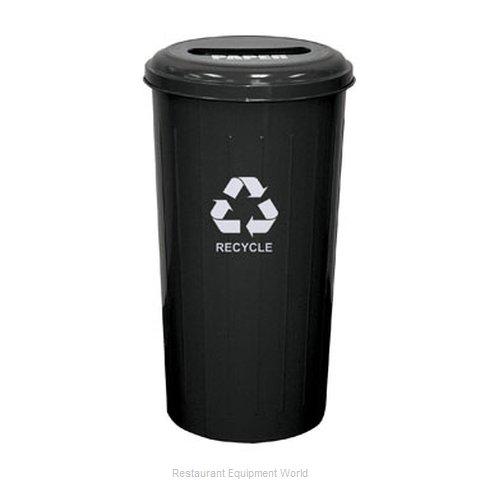 Witt Industries 10/1STBK Waste Receptacle Recycle