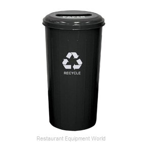 Witt Industries 10/1STBK Waste Receptacle Recycle
