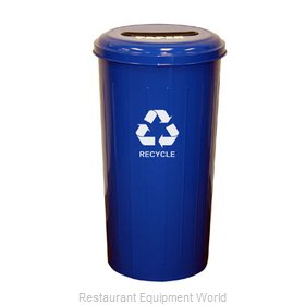 Witt Industries 10/1STDB Waste Receptacle Recycle