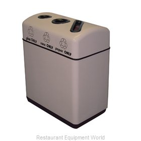 Witt Industries 11RR-361631 Waste Receptacle Recycle