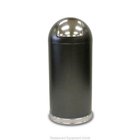 Witt Industries 15DTSVN Trash Garbage Waste Container Stationary