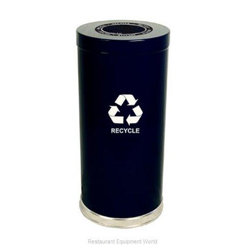 Witt Industries 15RTBK-1H Waste Receptacle Recycle