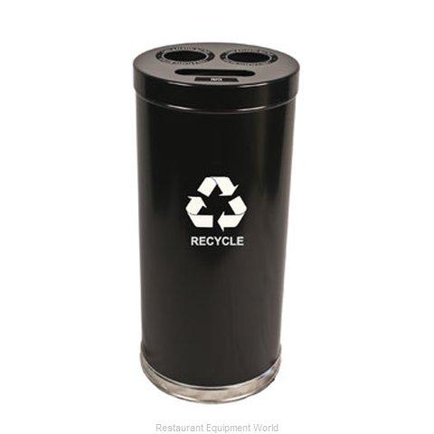 Witt Industries 15RTBK Waste Receptacle Recycle