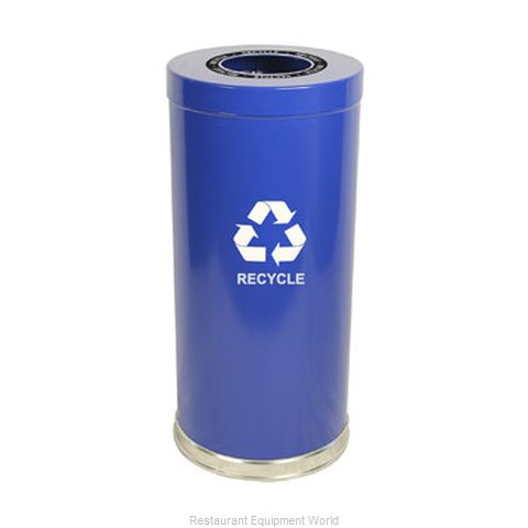 Witt Industries 15RTBL-1H Waste Receptacle Recycle