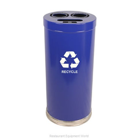 Witt Industries 15RTBL Waste Receptacle Recycle
