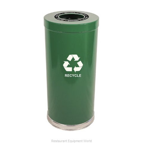 Witt Industries 15RTGN-1H Waste Receptacle Recycle
