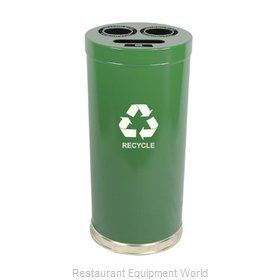 Witt Industries 15RTGN Waste Receptacle Recycle