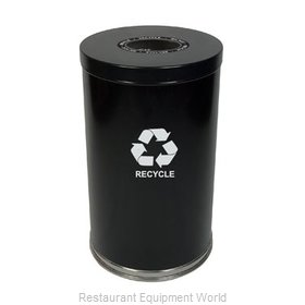 Witt Industries 18RTBK-1H Waste Receptacle Recycle