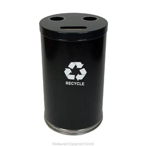 Witt Industries 18RTBK Waste Receptacle Recycle